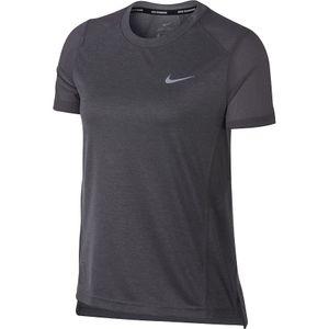 Nike Dry Miler - Damen Fitness Freizeit Shirt - 932499-036 grau