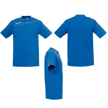 Uhlsport Stream 3.0 - Herren Baumwoll T-Shirt - 10er Set - 1002096
