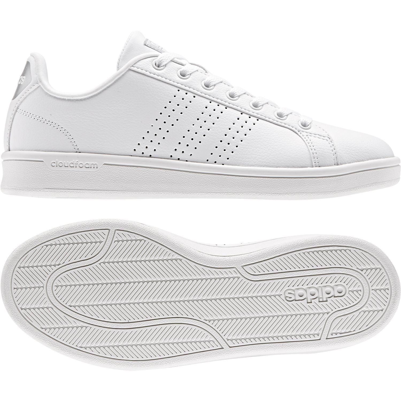 adidas CF Advantage CL für Damen (weiß / 5.5) zCzA9