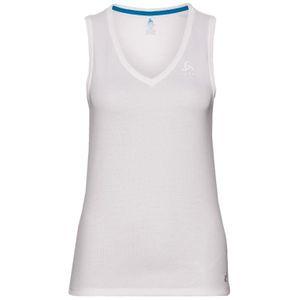 Odlo V-Neck Singlet Active - Damen Top Trainingsshirt - 140931-10000 - weiß