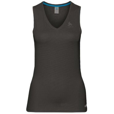 Odlo V-Neck Single Active - Damen Top Trainingsshirt - 140931-15000 - schwarz