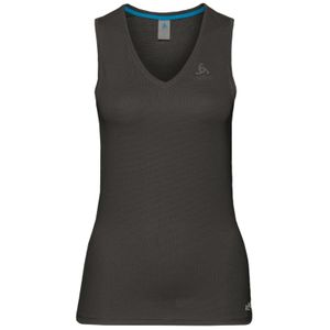 Odlo V-Neck Single Active - Damen Top Trainingsshirt - 140931-15000 - schwarz