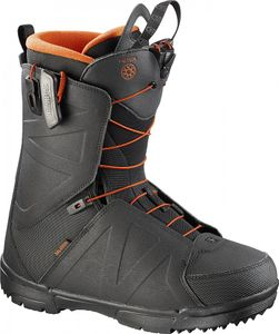 Salomon Faction - Herren Snowboardschuhe Snowboard Stiefel - L38169800 schwarz/orange