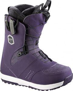 Salomon IVY - Damen Snowboardschuhe Snowboard Stiefel - L39214300 lila/weiß/schwarz