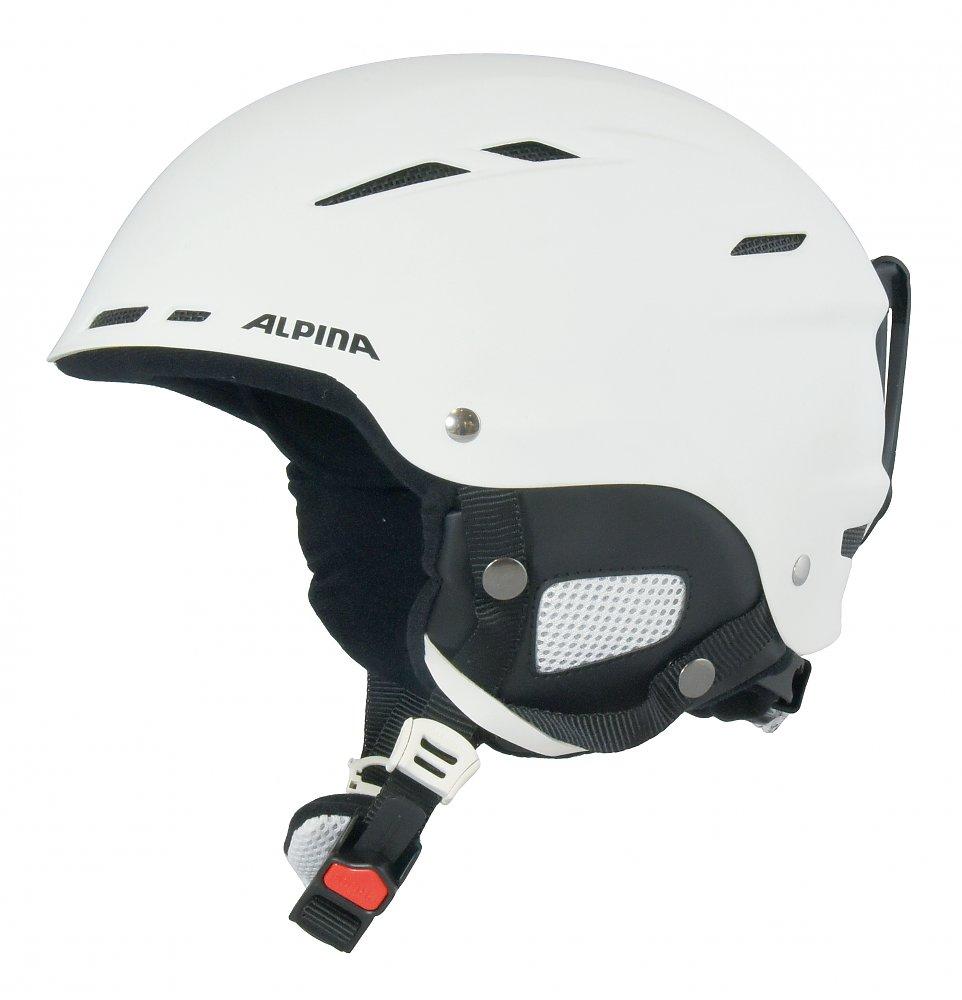 Alpina BIOM - Skihelm Snowboard Helm - A9059 weiß