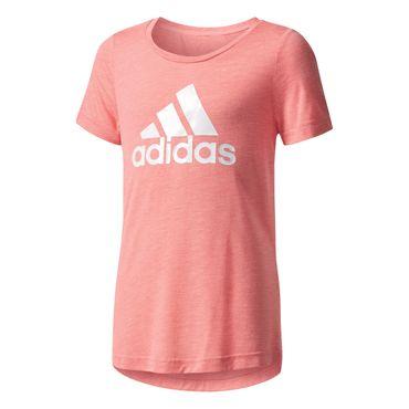 adidas YG ID Tee - Mädchen T-Shirt Freizeitshirt - CF1236