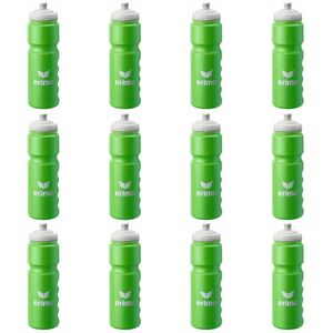 12x Erima Water Bottle 0,7L - Trinkflasche - 724901