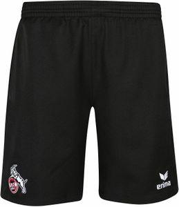 Erima 1.FC Köln - Kinder Short Freizeithose - 1090706 - schwarz