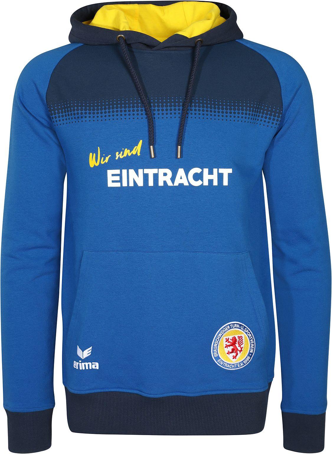 Erima Eintracht Braunschweig Herren Hoody 17/18...