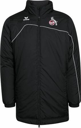 Erima 1. FC Köln - Kinder Winterjacke Stadionjacke - 1060710 schwarz