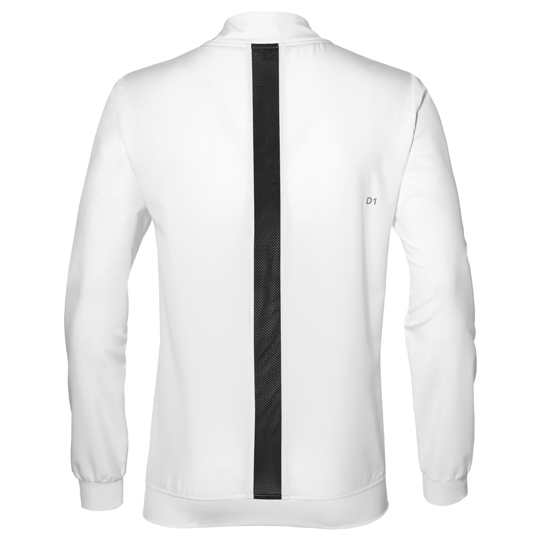 ededab0e19f411 Asics Tennis Jacket - Herren Tennis Jacke - 154410-0014 weiß Jogging ...