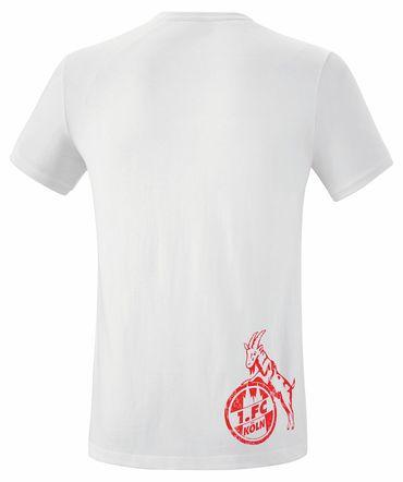 Erima 1.FC Köln - Herren Retro Shirt T-Shirt Freizeitshirt - 250605