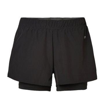 North Bend ExoCool Shorts - Damen Running Fitness Shorts - 135300-9500 schwarz