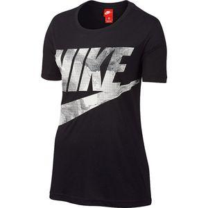 Nike W NSW Tee Glacier - Damen T-Shirt - 855546-010 schwarz/weiß/grau