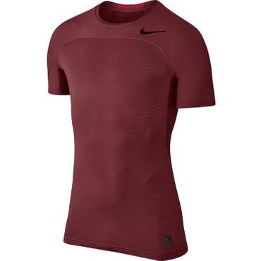 Nike Pro Hypercool Top - Herren Trainingsshirt Running Shirt - 828178-619 rot