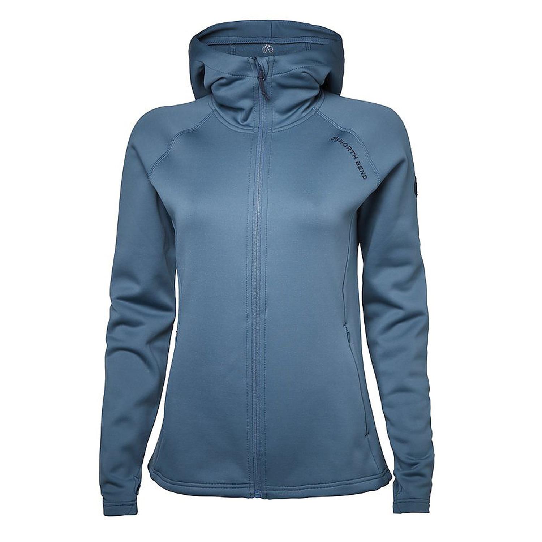 North Bend Vector Hoodie – Damen Fleecejacke Midlayer – 135381-5885 blau