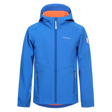 Icepeak Teiko Jr - Kinder Softshelljacke Outdoorjacke - 951811682-346 blau