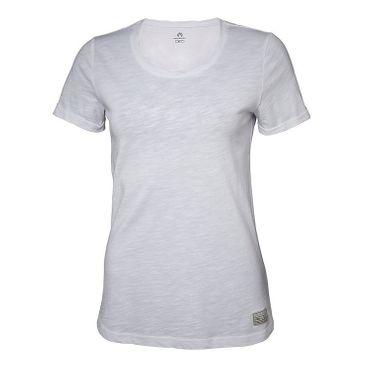 North Bend Slub - Damen Tee T-Shirt Freizeitshirt - 135431-9000 - weiß