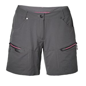 North Bend Stretch Shorts - Damen Trekkingshorts Outdoorshorts - 135390-7006 grau