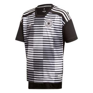 adidas DFB Deutschland WM 2018 - Kinder Pre-Match Shirt Warmmachshirt - CF2448