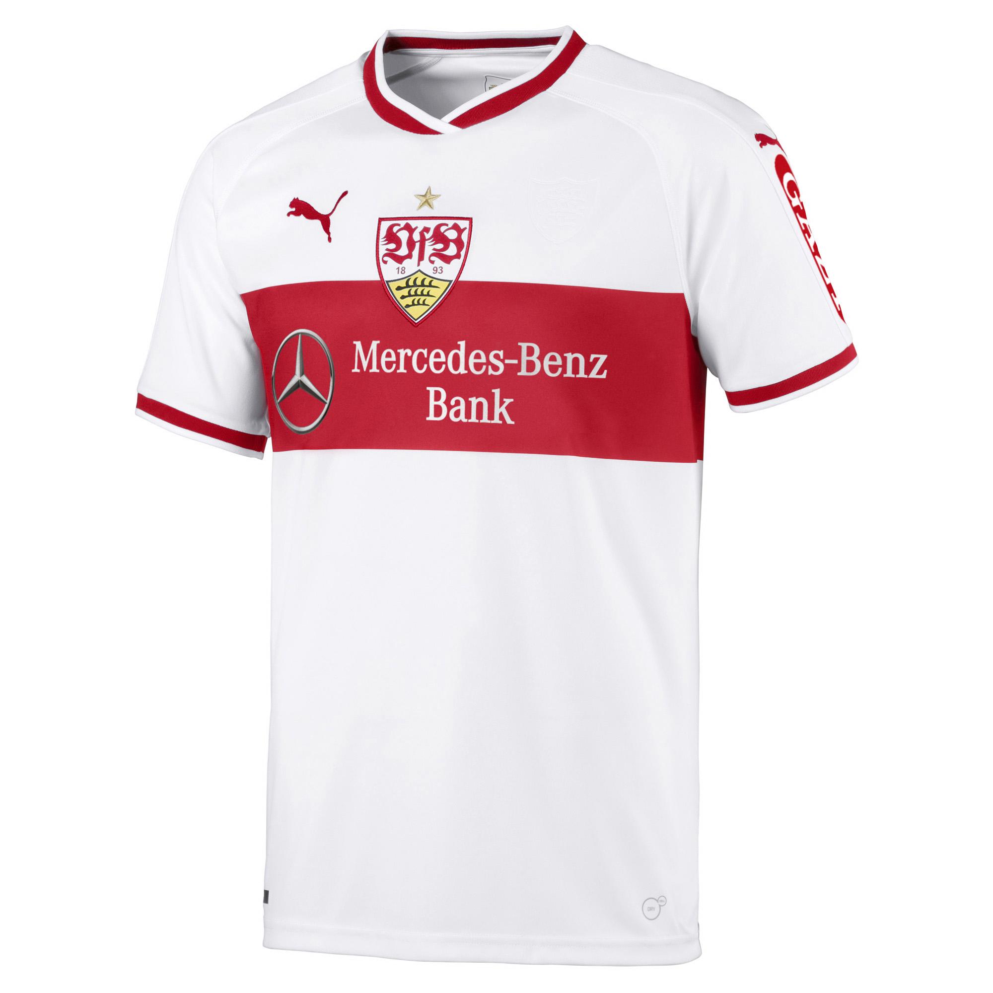 Puma VfB Stuttgart Herren Heimtrikot 1819 924546 01 weiß