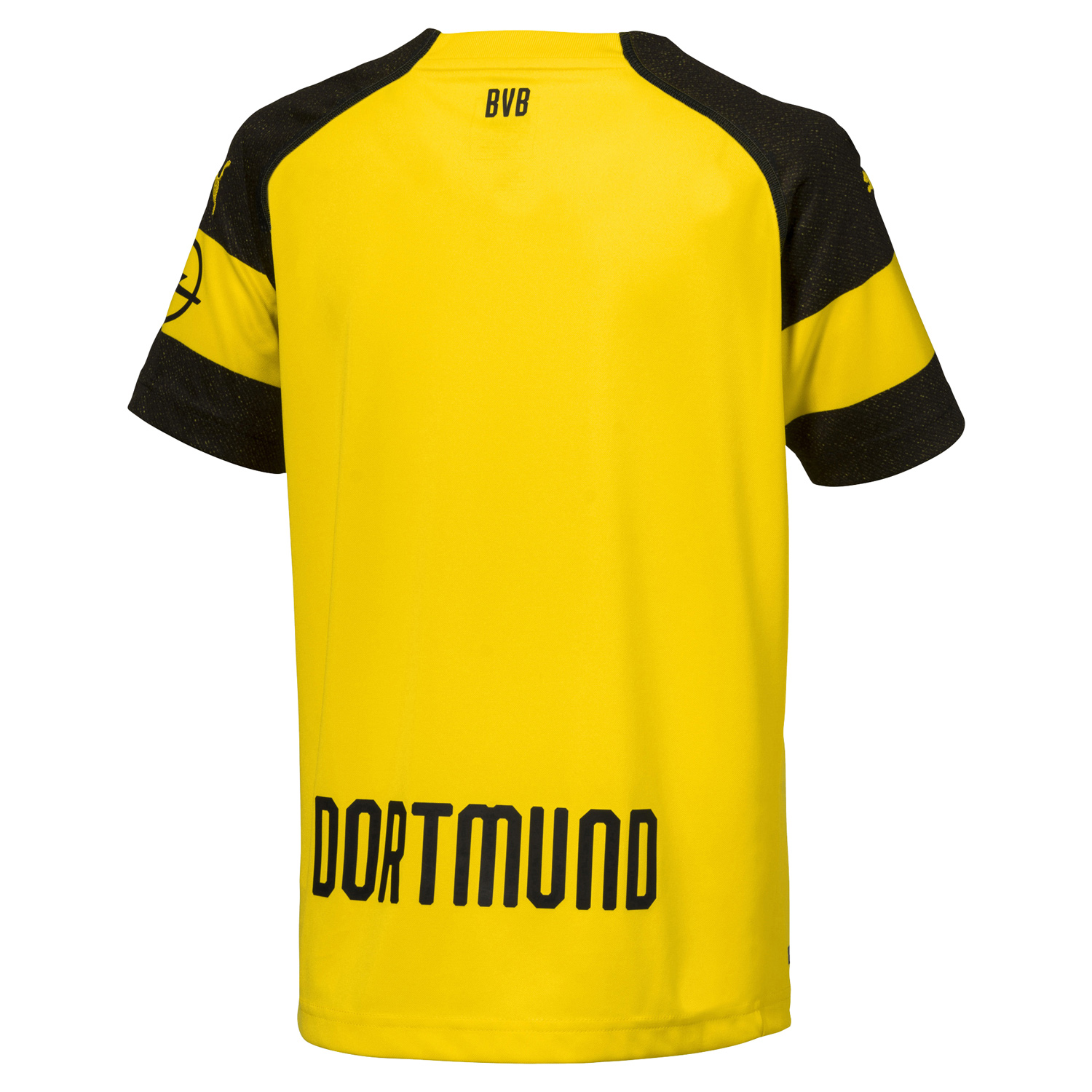 puma bvb borussia dortmund kinder heimtrikot junior trikot. Black Bedroom Furniture Sets. Home Design Ideas
