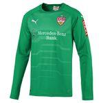 Puma VfB Stuttgart Herren Langarm Torwarttrikot 18/19 - 924599-14 grün 001