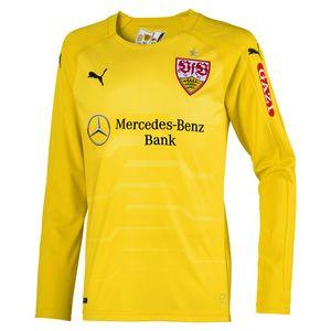 Puma VfB Stuttgart Kinder Langarm Torwarttrikot 18/19 - 924595-13 gelb