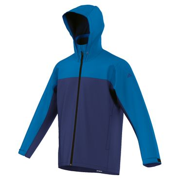 adidas Climaproof Jacket Color Block - Herren Outdoor Jacke - AP8347 blau/navy