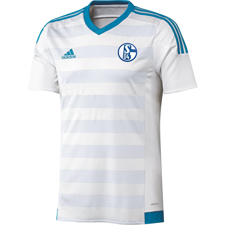 adidas S04 Schalke 04 Spieler Auswärtstrikot Away Jersey