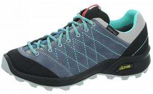 High Colorado Crest Trail - Damen Trekkingschuhe Outdoorschuhe - 136285-7135 grau/türkis