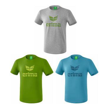 Erima Basics - Herren Logo T-Shirt Trainingsshirt - 6er Set