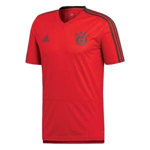 adidas FC Bayern München Herren Trainingstrikot Saison 2018/2019 - CW7261 rot