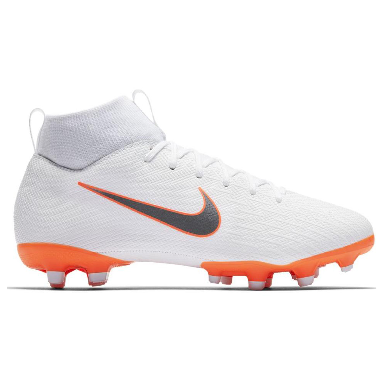 Nike Jr Superfly Vi Academy Mg Kinder Fussballschuhe Nockenschuhe Ah7337 107 Weiss Orange