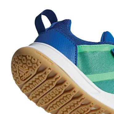 adidas Forta Gym CF - Kinder Fitnessschuhe Hallenschuhe - AH2562 blau/grün