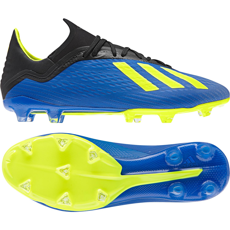 Adidas X 18.1 FG gelb schwarz Fußballschuhe