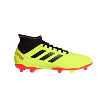 adidas Predator 18.3 FG - Herren Fußballschuhe Nockenschuhe - DB2003 gelb/schwarz