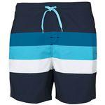 Stuf Laos Herren Beachshorts Badeshorts - 136020-5831 navy/blau/weiß 001