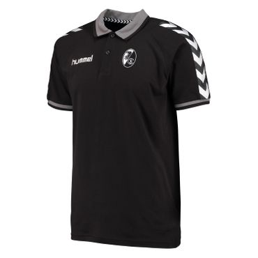 Hummel SC Freiburg Stay Authentic - Kinder Polo Shirt - 102432-2001 schwarz