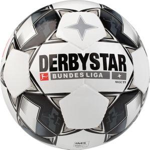 Derbystar Magic TT - Bundesliga Trainingsball Fußball - 1860-129 weiß/schwarz/grau