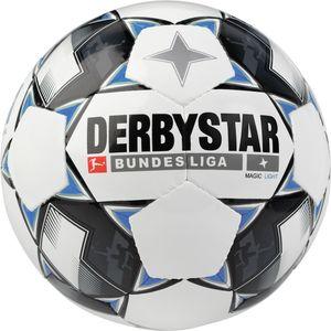 Derbystar Magic Light 2018/2019 - Bundesliga Jugend Trainingsball - 1861-126 weiß/schwarz/blau