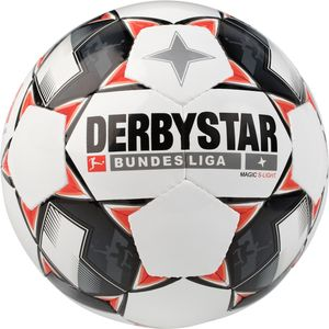 Derbystar Magic S-Light - Bundesliga Jugend Trainingsball - 1862-123 weiß/schwarz/rot