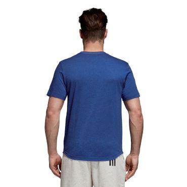 adidas Sport ID Logo - Herren Fitness T-Shirt - DM4062 blau