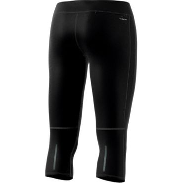 adidas Response 3/4 Tight - Damen Laufhose Running Tight - CF6222 schwarz