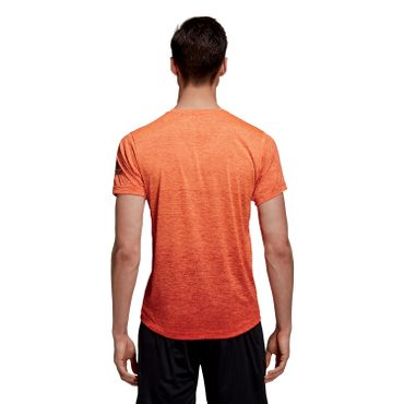 adidas Freelift Gradient Herren Trainingsshirt Fitness T-Shirt - CZ5433 orange