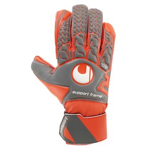 Uhlsport Aerored Soft SF - Herren Torwarthandschuhe - 1011059-02 grau/rot