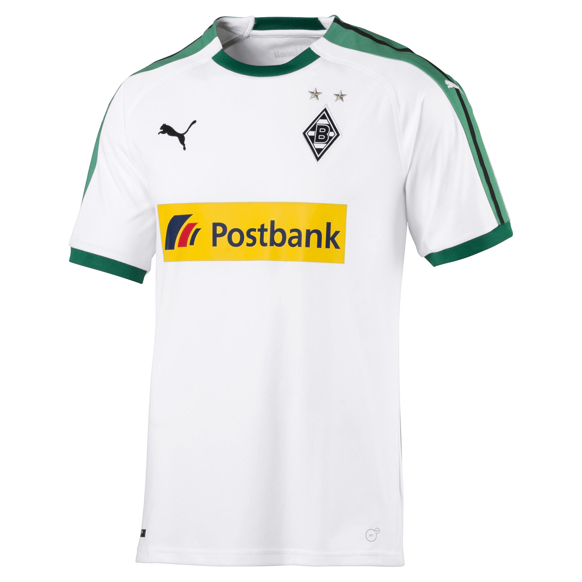 Puma Borussia Mönchengladbach - Herren Heimtrikot 18 19 - 753451-01 weiß 001 6e7448fee