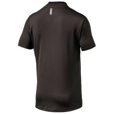 Puma PT Essential Dry Shortsleeve Tee - Herren kurzarm T-Shirt - 512721-01 schwarz