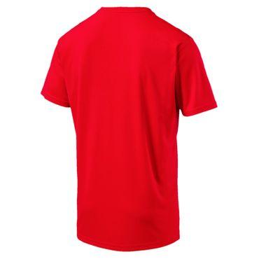 Puma Essential Cat Tee - Herren kurzarm T-Shirt - 515186-25 rot