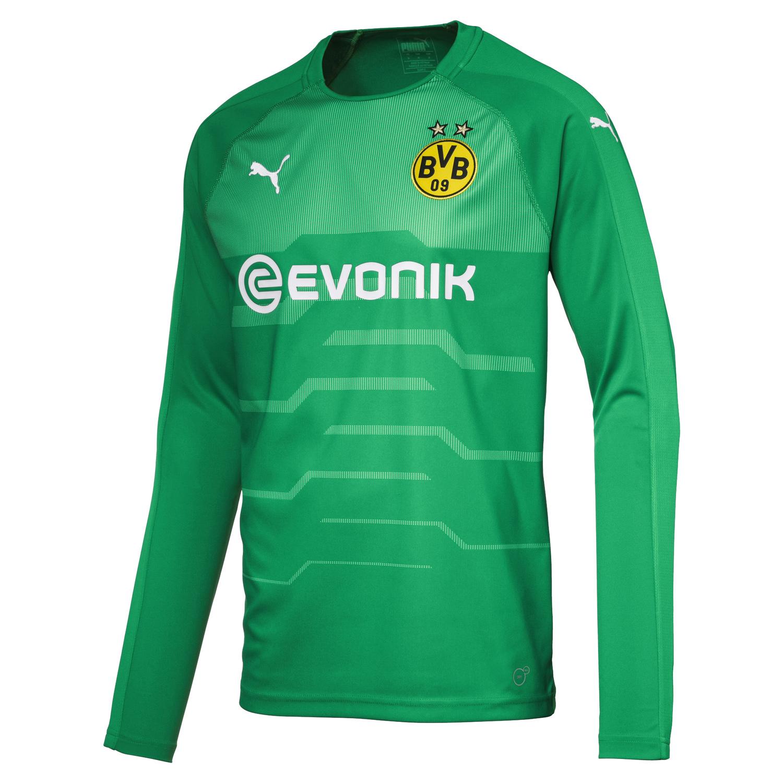 Puma BVB Borussia Dortmund Herren Torwarttrikot LS GK Jersey 18/19 – 753326-04 grün